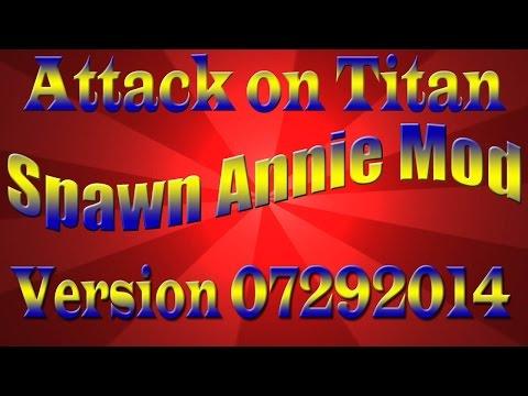 AoTTG Spawn Annie Mod V07292014