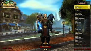 My World of Warcraft Characters 5th March 2013