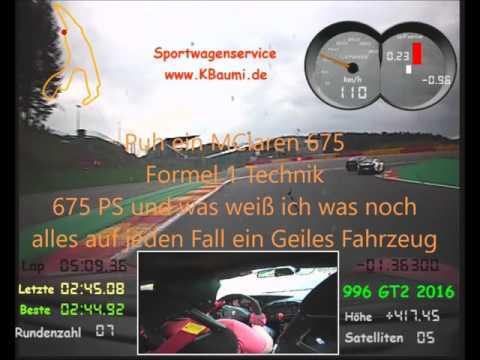 KBaumi SPA 17.05.2016 Ferrari, MClaren, Porsche Geile Autos