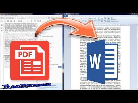 📖cómo-convertir-archivos-pdf-a-word-2020-sin-programas-📖📖