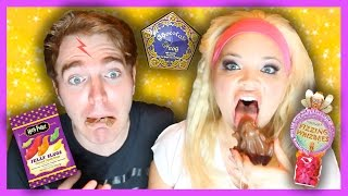 TASTING HARRY POTTER CANDY! (with TRISHA PAYTAS)