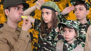 الأطفال دخلوا العسكرية!