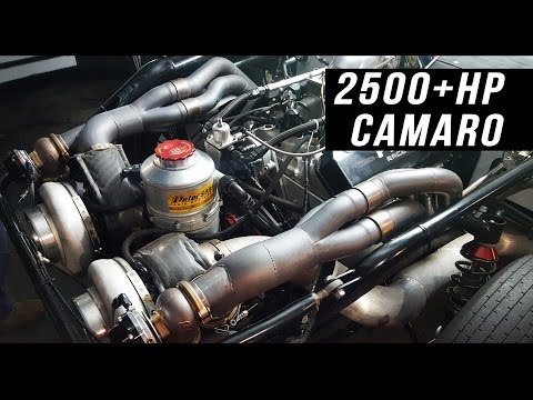 2500+hp twin turbo Camaro