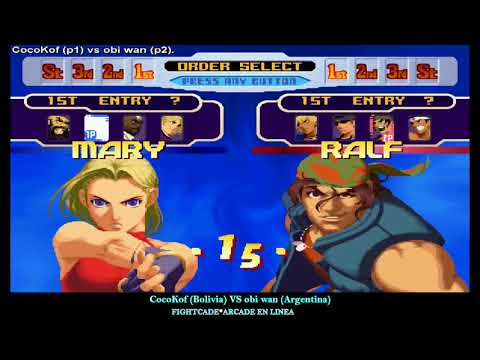 KOF2000 FightCade CocoKof (Bol) VS obi wan (Arg)