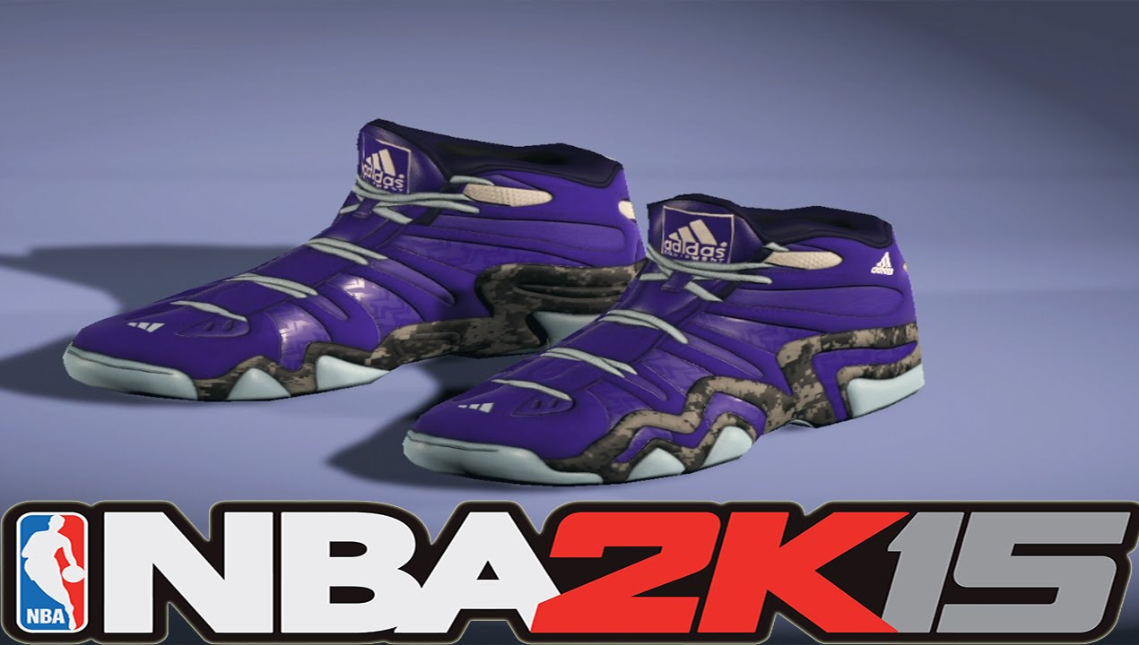 sports shoes 415ad 9f858 NBA 2K15 Next Gen Shoes - Adidas Crazy 8 Nightmare Before Christmas