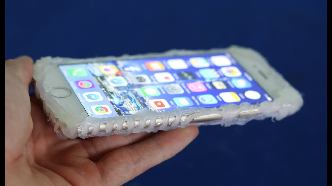 Make a amazing iphone case from hot glue diy smartphone case youtube solutioingenieria Images
