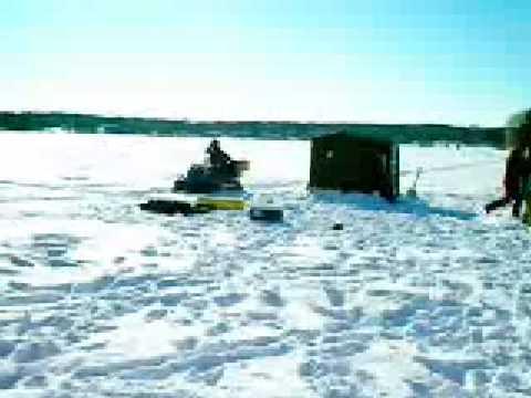 Ice Fishing In Brainerd Minnesota Youtube