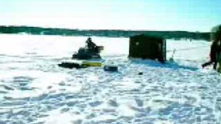 Ice Fishing in Brainerd, Minnesota