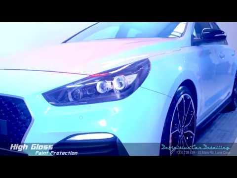 Hyundai i30N Performance Blue Definitive Sydney Liquid Glass Ceramic Coating High Gloss Paint Protec
