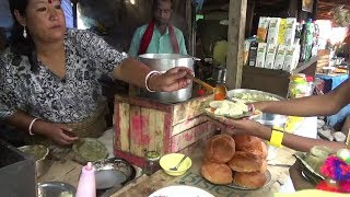 Gambar cover Street Food In Hill Areas | Ladies are Making Momos and Selling | Amazing Indian Street Food