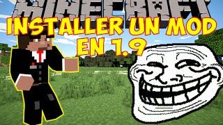 MINECRAFT 1.9 : TUTORIEL POUR INSTALLER UN MOD ! [HD]