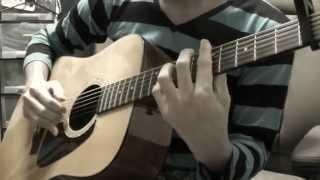 ソロギター シュガーソングとビターステップ UNISON SQUARE GARDEN カバー