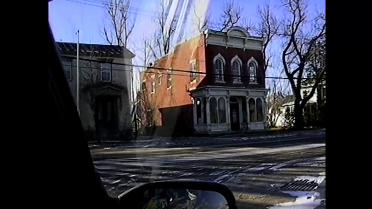 Tour of Champlain Village  12-29-99