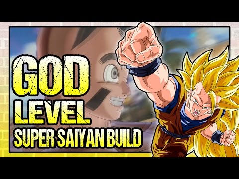 Dragon Ball Xenoverse 2 | GOD Level Super Saiyan Build