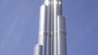 Burj Dubai - Burj Khalifa 01/2010 höchstes Gebäude der Welt