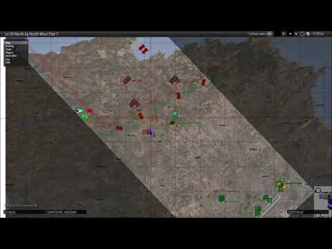 co 56 North by North West Part 1 - Server 1 (unmodded) gameplay
