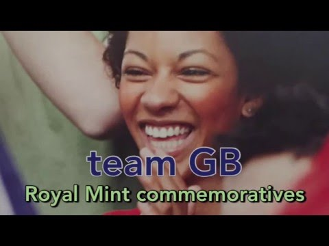 Royal Mint Team GB Olympic Games 2016 RIO in Silver and Gold