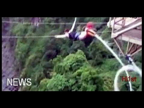 Bungee Jumping Accident At Victoria Falls Woman Falls Into