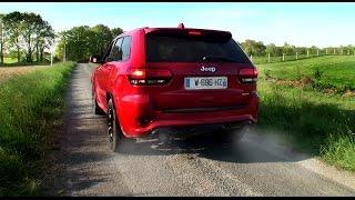 jeep grand cherokee srt8 2017 exhaust
