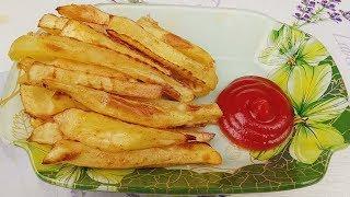 Картофель ФРИ без капли Масла!