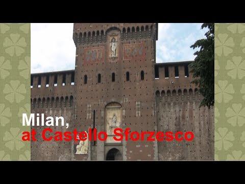 stenote vlogs - Milan, at Castello Sforzesco