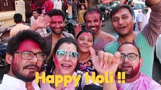 Celebrating Holi 2019 with Mad Friends | SS vlog :-)