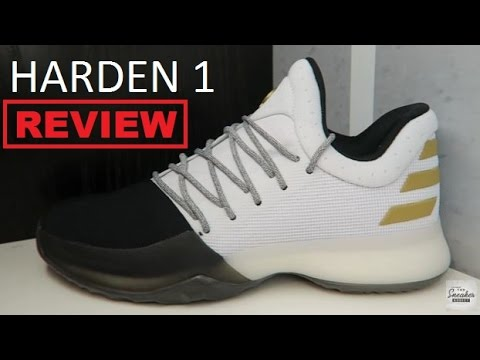 c1fb920dac0 adidas James Harden Vol. 1 Boost Disruptor Sneaker Detailed Review - YouTube