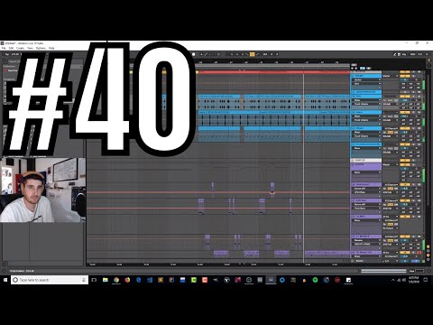 Making High Energy Trap Music In the Studio w/ ADAY | Live Stream #40