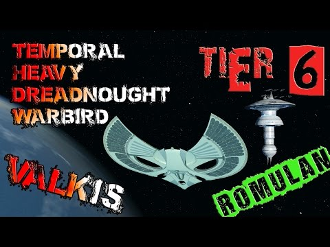 Valkis Temporal Heavy Dreadnought Warbird [T6] – with all ship visuals - Star Trek Online