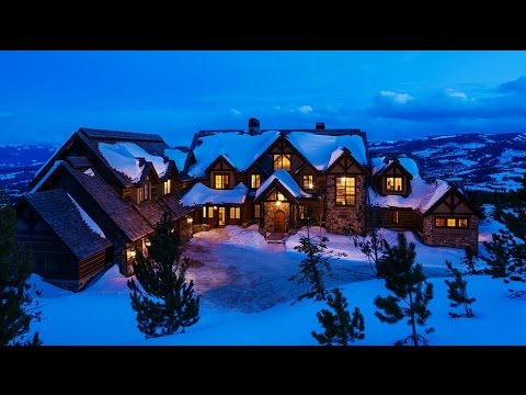 Amazing Luxurious Chalet In Big Sky, Montana, United States