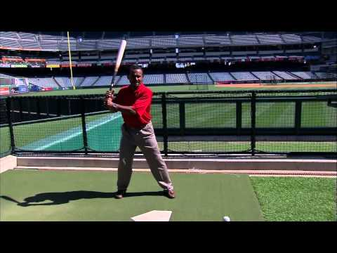 Jose Mota talks about the timing of Mike Trout's swing