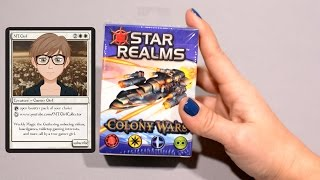 MTGirl: Star Realms COLONY WARS Unboxing