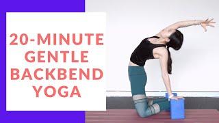 20-Minute Gentle Backbend Yoga Class