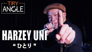 """YouTube動画:TRY-ANGLE HARZEY UNI LIVE SHOW """"ひとり"""""""
