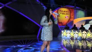 Programa Raul Gil - Sarah Raquel (Quando Eu Chorar) - Mulheres que Brilham