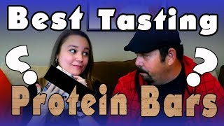 Best Tasting Protein Bars For Weight loss -  Taste Test and Review