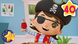 How To Dress Like A Princess and A Pirate | Fun Learning with LittleBabyBum | NurseryRhymes for Kids