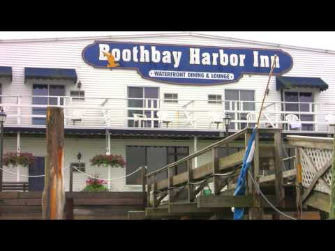 """""""Boothbay Weekend"""" by  Arlo West - Boothbay Harbor Maine"""