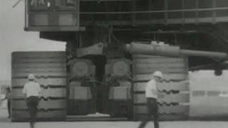 El vehículo más grande del mundo: Transporte Saturn V 1966 NASA USA Saturno 5 Cohete