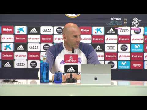 Zidane Press Conference Pre-match against the Real Betis