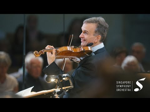 Mendelssohn: Violin Concerto in E minor | Gil Shaham with Singapore Symphony Orchestra, Lan Shui