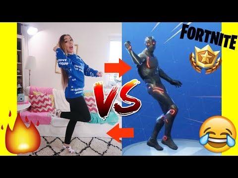 mein TANZ in real LIFE vs. neuer lustigster FORTNITE DANCE