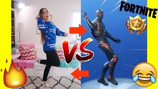 mein TANZ in real LIFE vs. neuer lustigster FORTNITE DANCE