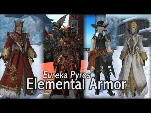 FFXIV: Eureka Elemental Armor