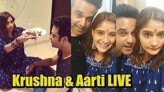 Krushna Abhishek & His Sister Aarti Singh's LIVE CHAT With Fans On Rakshabandhan
