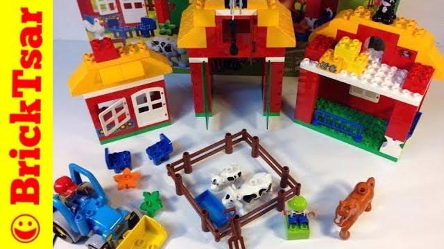 Конструктор Lego Duplo 10525 Большая Ферма - YouTube