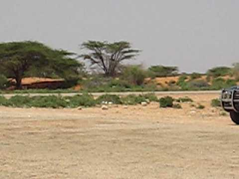 Airport in Gaalkacyo, Somalia