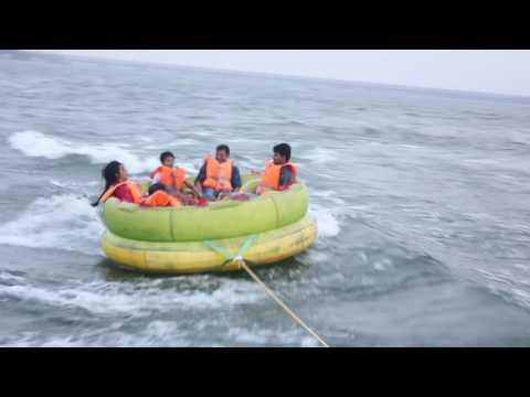 Adventure Water  Sports | Bhavani Island | Vijayawada Andhra Pradesh | Speed Boat Rafting