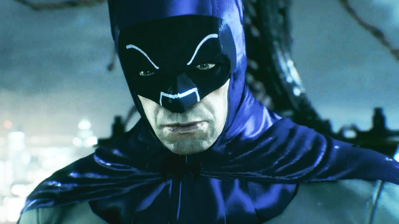 Download Batman Arkham Knight Adam West TV Series Batsuit Skin Gameplay (All HD)