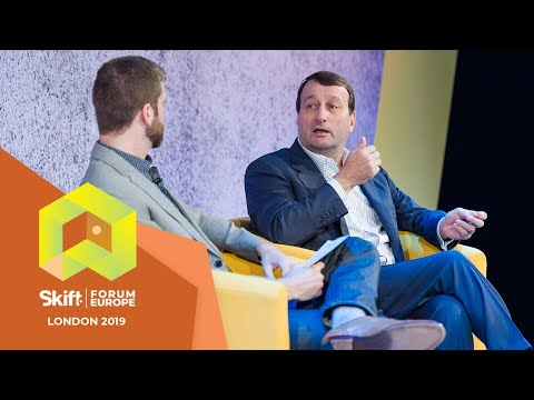 Travelsify Co-founder & CEO Bruno Chauvat At Skift Forum Europe 2019